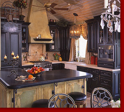 RTI : : French Chateau Kitchen